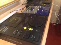 2 X Pioneer CDJ 500 II Limited Edition + Numark DXM03 Mixer