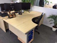 Office equipment - Desks, chairs, computers, phones, etc