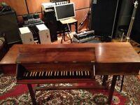Virginal, Spinet, Harpsichord (piano) by Alec Hodsdon, rare