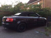 Audi A4 cabriolet 53 plate