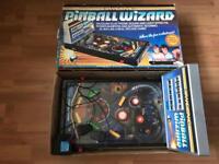 Grandstand pinball wizard retro 80s boxed pinball machine
