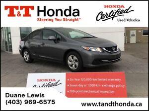 2013 Honda Civic LX * Local Car, Heated Seats, Bluetooth*