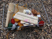 Tapestry bits - wool and canvas