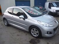 Peugeot 207 Sportium LTD Edition,3 door hatchback,full MOT,sports interior,Sat Nav,56k,SA12KUT