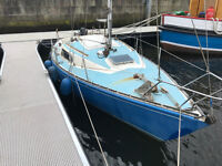 Ruffian 23 yacht; priced to sell; lying on the Clyde