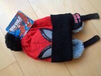 Kids New and Unused Small-Medium Spiderman Hat