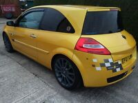 Megane R26 liquid gold, must view priced for quick sale