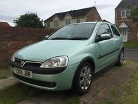 Vauxhall Corsa 1.2 SXi spares or repairs, or will break for parts