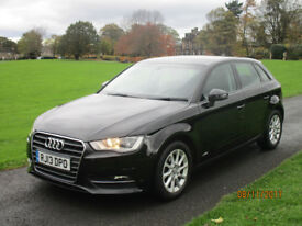 AUDI A3 LOW MILES FSH ONE OWNER