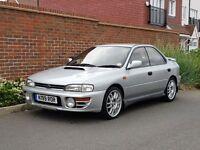 Subaru Impreza WRX Turbo Saloon (1993/K Reg) + JAP IMPORT + DUMP VALVE + C-WEST EXHAUST + RARE +