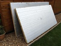 X2 sheets of 75mm insulation 2400 x 1200