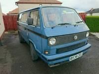 VW T25 Campervan transporter