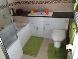 Tiling Wall and Floor specialist in natural stone. Underfloor heating and screeding also provided.