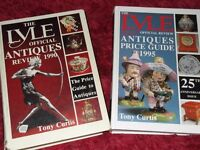 x2 Large/Heavy Antique Books by Lyle, Official Review.