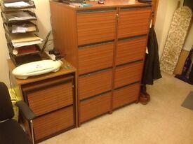 Complete Office, Desk , Filing Cabinets 2.2Drawer 2.4Drawer Good Make,