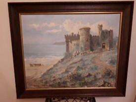 Original WG Gange oil painting