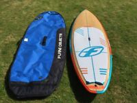 FOne 8.5 Madeiro bamboo deck SUP stand up paddle board 2015