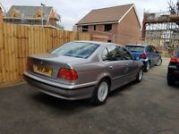 BMW 523i service history, all documents, two keys, HPI clear