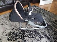 Designer Maclaren baby bouncer/chair