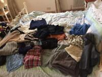 40+ items of clothing size 8&10 Topshop,Jack Wills, Superdry etc