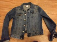 H and m denim jacket age 14 never worn