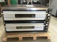 """SUPER PIZZA ELECTRIC PIZZA OVEN DOUBLE DECK STONE BAKED 2 X 6 X 12"""" PIZZA"""