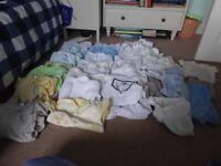 Boys Clothes Bundle, 0-3 Months. 27 Items.