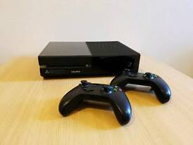 Xbox One 500GB Console with 2 Wireless Controllers