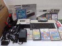 Atari 800 XL computer - quantity of 1980s vintage equipment and software