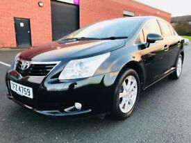 2009 TOYOTA AVENSIS TR VALVEMATIC 1.8 PETROL FULL SERVICE HISTORY EXCELLENT CONDITION