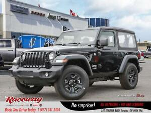 2018 Jeep Wrangler Sport, JUST TRADED-IN
