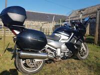 2008 Yamaha FJR1300 with full luggage