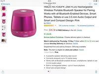 Jam plus bluetooth speaker