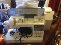 Brother Innov-is 400 sewing machine complete with hard cover