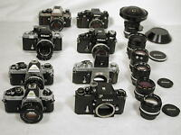 We buy  Photography Cameras lenses & Equipments NOUS ACHETON