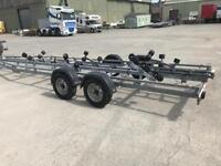 Boat rib trailer