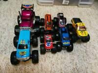 7 x Toy Monster Trucks