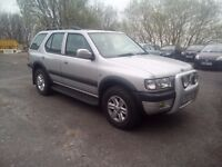 Vauxhall Frontera 2.2 Dti 4×4 Full Service History Long Mot Excellent Condition in And Out Hpi Clear