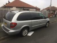 Chrysler grand voyager, electric doors and boot