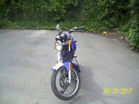 AJS 125 FULL 12 MONTH MOT