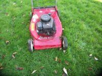 yard king petrol mower large 21in cut
