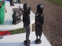 Ebony carved Warriors