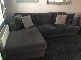 3 seater chaise corner sofa