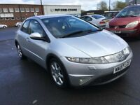 2007 Honda CIVIC 1.8 SE, mot-November 2018 , service history ,2 owners,astra,focus,golf,auris,megane