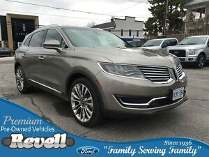 2016 Lincoln MKX AWD...1-owner trade, Only 15000K, Moonroof, Htd