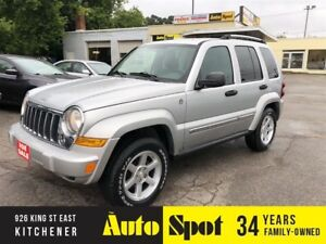 2007 Jeep Liberty Limited Edition/LOW, LOW KMS/PRICED-QUICK SALE