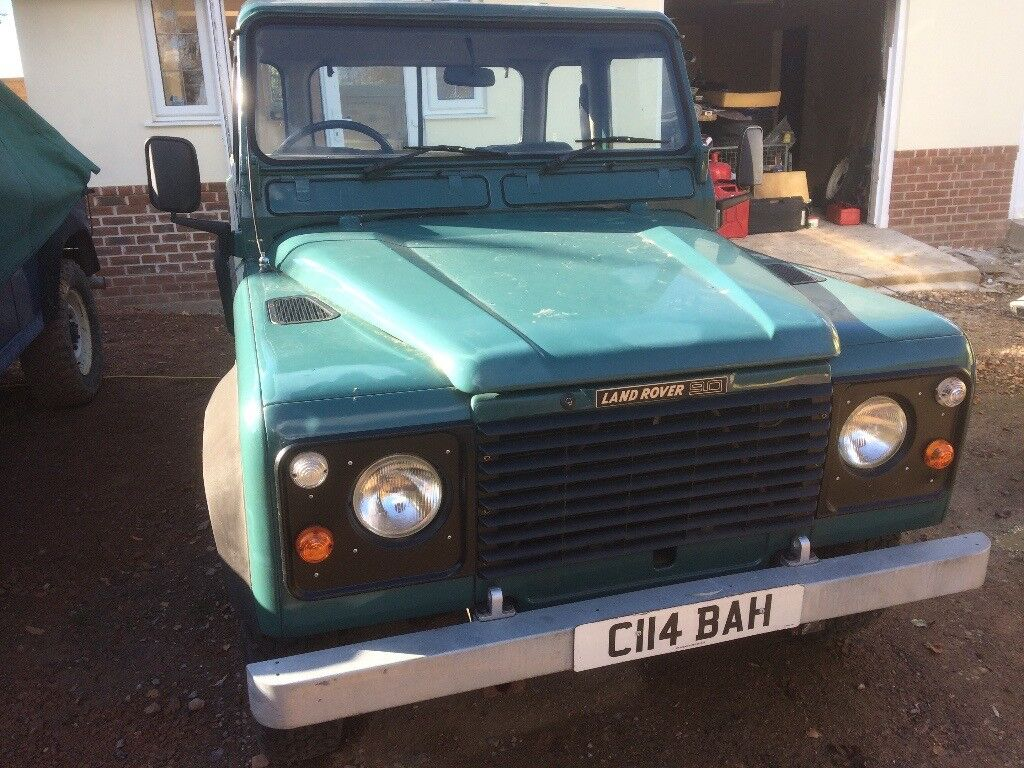 Land Rover Defender 90 Pick Up Long Mot New Clutch Lots Of Money Spent