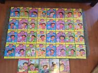 DORA DVDS - FULL SET COLLECTION 1-32 + 5 OTHER DORA DVDS