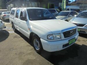 2003 Mazda B2600 Bravo DX White 4 Speed Automatic Dual Cab Pick-up Punchbowl Canterbury Area Preview