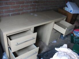 Teak desk for Sale